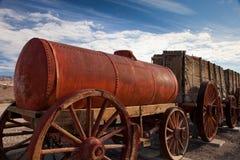Historische waterwagen Stock Foto's
