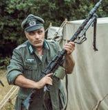Historische wederopbouw tweede wereldoorlog Royalty-vrije Stock Fotografie