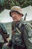 Historische wederopbouw tweede wereldoorlog Portret van Duits s Royalty-vrije Stock Fotografie