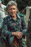 Historische wederopbouw tweede wereldoorlog Portret van Duits s Stock Foto's