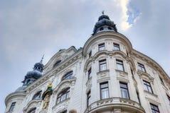 Historische Weense architectuur Stock Foto