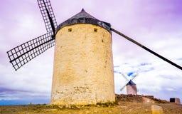 Historische Windmühlen Lizenzfreie Stockfotografie