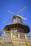Historische Windmolen in Potsdam stock foto