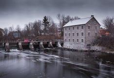 Historischen Watsons Mühle Lizenzfreies Stockfoto