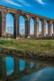 Historischer Aquädukt, Lucca, Toskana, Italien Stockfotos