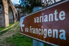 Historischer Aquädukt, Lucca, Toskana, Italien Stockfotografie