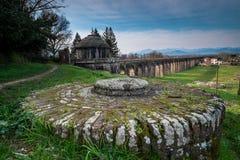 Historischer Aquädukt, Lucca, Toskana, Italien Lizenzfreie Stockfotos