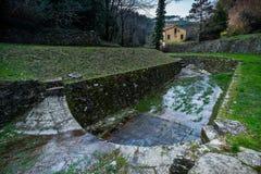 Historischer Aquädukt, Lucca, Toskana, Italien Lizenzfreie Stockfotografie