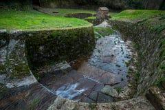 Historischer Aquädukt, Lucca, Toskana, Italien Lizenzfreies Stockfoto