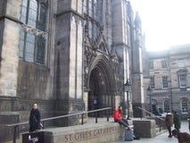 Historischer Ausflug von Ediburgh die Hauptstadt von Schottland lizenzfreie stockfotografie