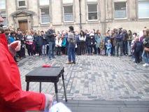 Historischer Ausflug von Ediburgh die Hauptstadt von Schottland stockfoto