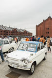 Historischer Auto-Tag 2013 Yokohamas Stockbilder