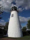 Historischer Übereinstimmung-Leuchtturm Lizenzfreie Stockbilder