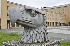 Historischer Berlin Tempelhof Airport: Eagle Square Lizenzfreies Stockbild