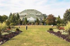 Historischer botanischer Garten in Chicago lizenzfreie stockfotografie