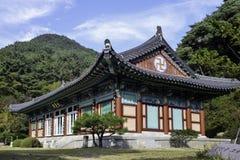 Historischer Buddhist Tempels Palgonsan - Pagyesa Suinsam Lizenzfreie Stockfotografie