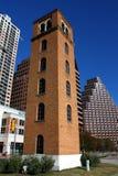 Historischer buford Kontrollturm im Stadtzentrum gelegenes Austin Texas Lizenzfreie Stockfotos