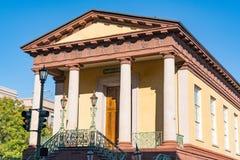 Historischer Charleston City Market Building stockfoto