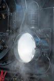 Historischer Dampf-Zug beim Harz Stockbild
