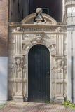 Historischer Eingang Amsterdam Stockfotos