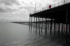 Historischer englischer Pier Lizenzfreie Stockfotos
