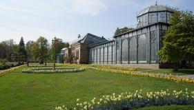 Historischer errichtender Park Wilhema-Zoo-Deutschlands lizenzfreie stockbilder