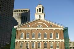 Historischer Faneuil Hall von revolutionärem Amerika in Boston, Massachusetts, Neu-England Lizenzfreies Stockfoto