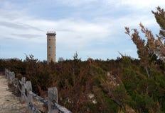 Historischer Feuer-Turm des Zweiten Weltkrieges Lizenzfreie Stockfotos