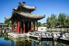 Historischer Garten von Peking, China Lizenzfreies Stockfoto