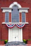 Historischer Gebäude-Eingang Stockfoto