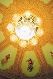 Historischer Gebäudeinnenraum Bolshoi-Theaters Stockfotografie