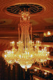 Historischer Gebäudeinnenraum Bolshoi-Theaters Lizenzfreies Stockfoto