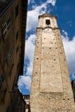 Historischer Glockenturm der Imperia Stockfotografie
