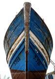 Historischer Hafen Essaouira, Marokko, Mogador, Bootsgebäude stockfoto