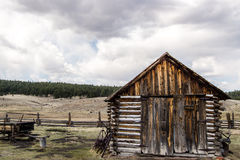 Historischer Hornbeck-Gehöft-Colorado-Ranch-Bauernhof lizenzfreie stockfotos