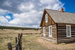 Historischer Hornbeck-Gehöft-Colorado-Ranch-Bauernhof stockbilder