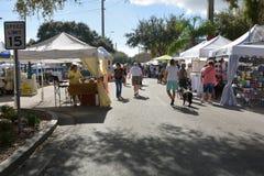 Historischer im Stadtzentrum gelegener Kakao Florida Stockbilder