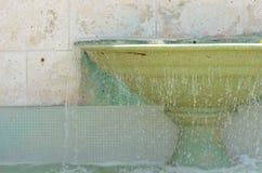 Historischer im Stadtzentrum gelegener Wasserfall II Lizenzfreies Stockfoto