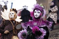 Historischer Karneval stockbild