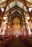 Historischer Kirche-Innenraum Stockfotografie