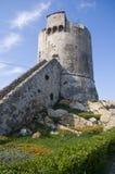 Historischer Kontrollturm Stockfotografie
