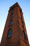 Historischer Kontrollturm in im Stadtzentrum gelegenem Austin Lizenzfreies Stockbild