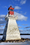 Historischer Leuchtturm Lizenzfreie Stockbilder