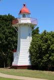 Historischer Leuchtturm Burnett Headss lizenzfreie stockfotografie