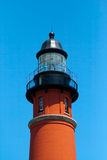 Historischer Leuchtturm Ponce De-Leon Stockbilder