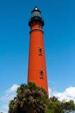 Historischer Leuchtturm Ponce De-Leon Stockfotos