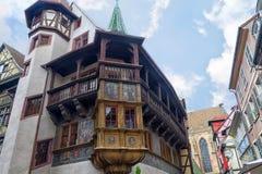Historischer Maison Pfister in Colmar, Lizenzfreie Stockbilder