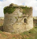 Historischer Martello-Turm Stockfotos