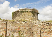Historischer Martello-Turm Lizenzfreies Stockfoto