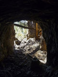 Historischer Minenschacht Lizenzfreies Stockfoto